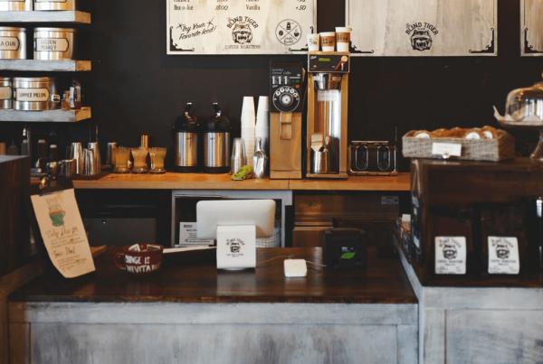 Unutrašnjost kafića